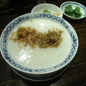 CHINESE RICE CONGEE